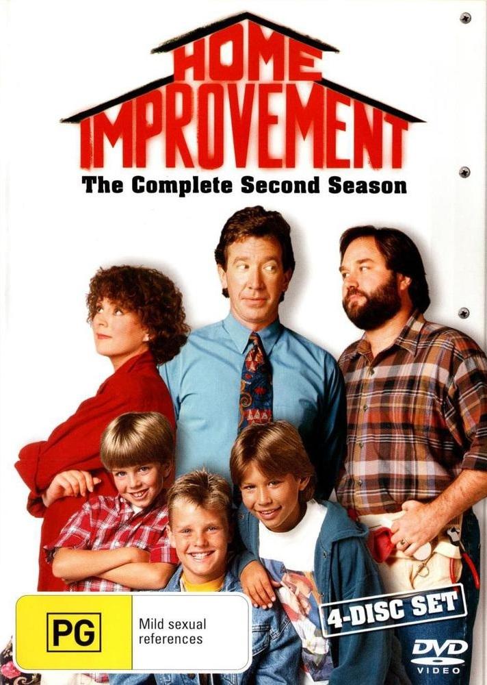 Home Improvement - Complete Season 2 (4 Disc Set) on DVD image