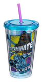 Doctor Who Comic Book Acrylic Travel Cup