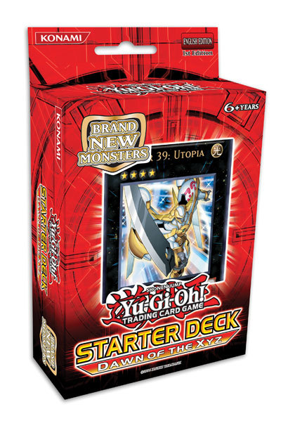 YU-GI-OH! TCG 2011 Dawn of the XYZ Starter Deck image