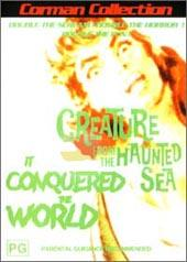It Conquered The World / The Creature From The Haunted Sea on DVD