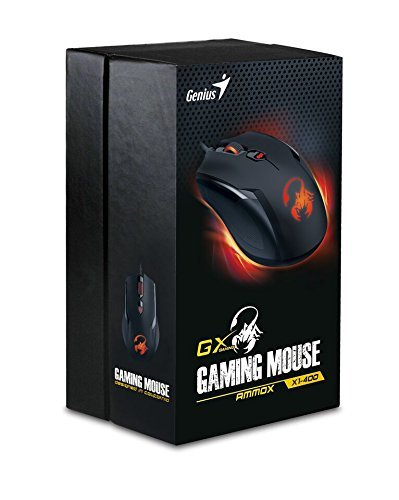 Genius GX Ammox 4 Button Gaming Mouse for PC Games image