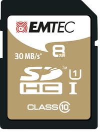 8GB Emtec SD Card Gold+ (Class 10)