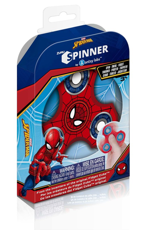 Zuru Marvel Fidget Spinner (Spider-Man)