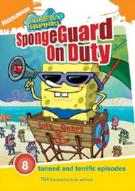 SpongeBob SquarePants - SpongeGuard On Duty on DVD image