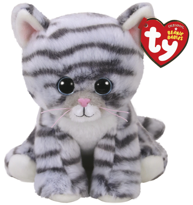 Ty Beanie Babies: Millie Tabby Cat - Small Plush