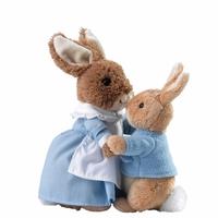 Peter Rabbit & Mrs Rabbit - Plush Set