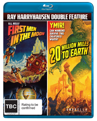 First Men In The Moon + 20 Million Miles To Earth on Blu-ray image
