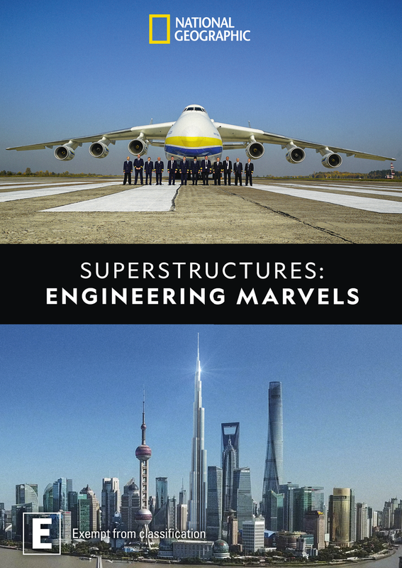 Superstructures Engineering Marvels on DVD
