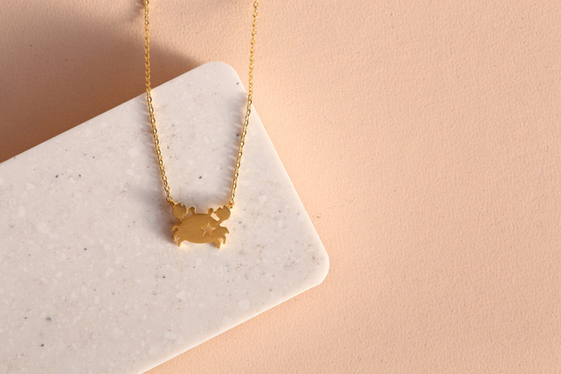 Short Story: Crab Necklace - Gold