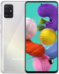 Samsung Galaxy A51 (128GB/6GB RAM) - White