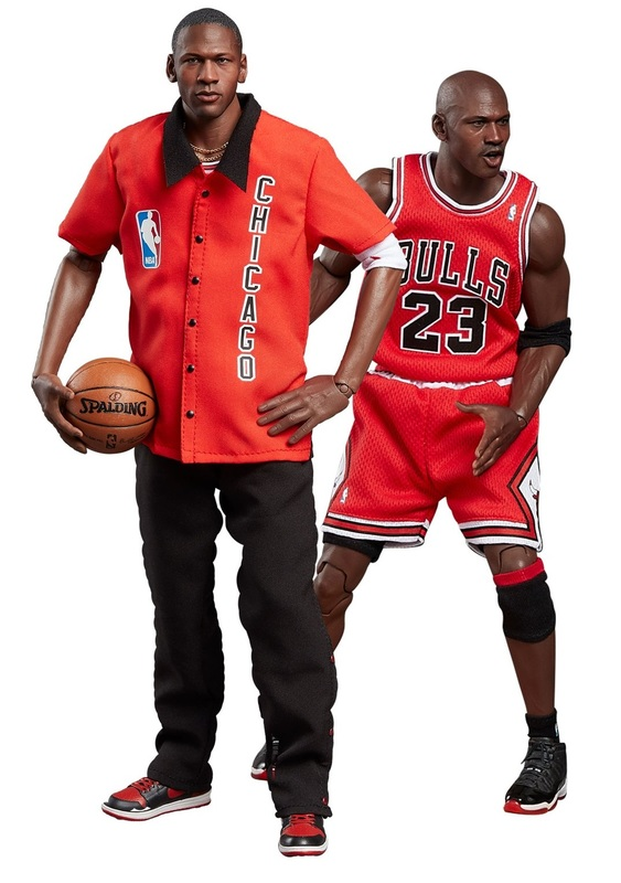 NBA: Michael Jordan (Away Final Ed.) - 1:6 Real Masterpiece Figure Set