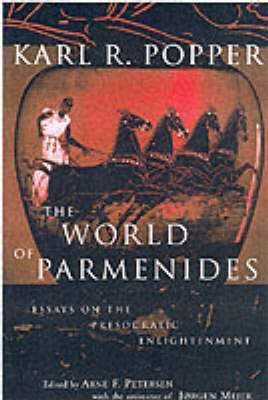 The World of Parmenides by Karl Popper image