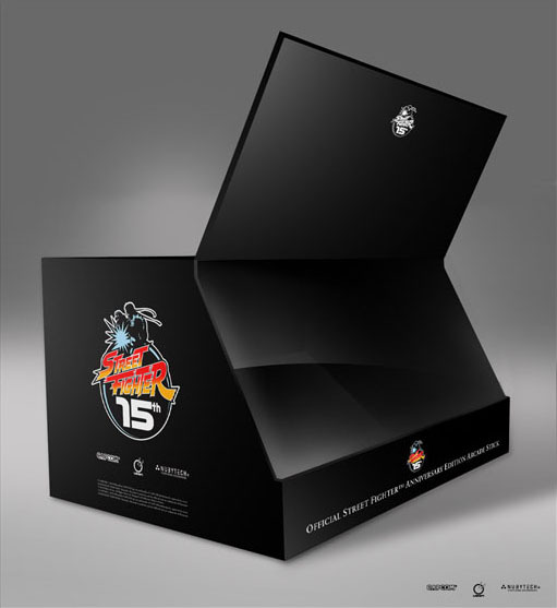 Street Fighter Anniversary Edition Arcade Stick for PlayStation 2 image