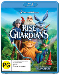 Rise of the Guardians on Blu-ray