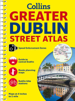 Greater Dublin Streetfinder Atlas by Collins Maps