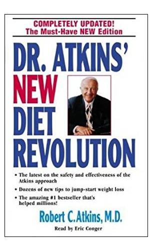 Dr Atkins New Diet Revolution by Robert Atkins