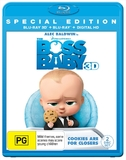 The Boss Baby - 3D Special Edition on Blu-ray, 3D Blu-ray, UV