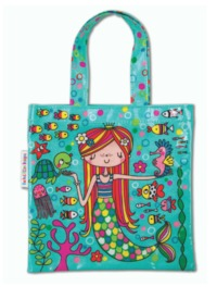 Rachel Ellen: Mermaid - Mini Tote Bag