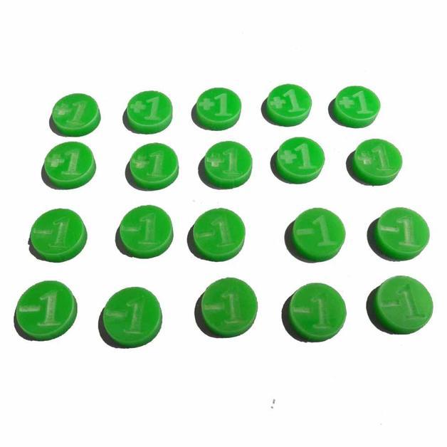 TTCombat: +1/-1 Counters (Green)