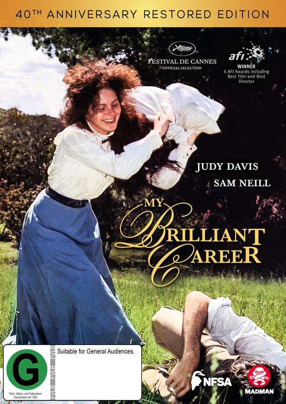 My Brilliant Career (40th Anniversary) on DVD