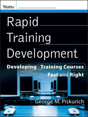 Rapid Training Development by George M Piskurich image