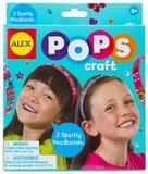 Alex: Pops Craft 2 Sparkly Headbands