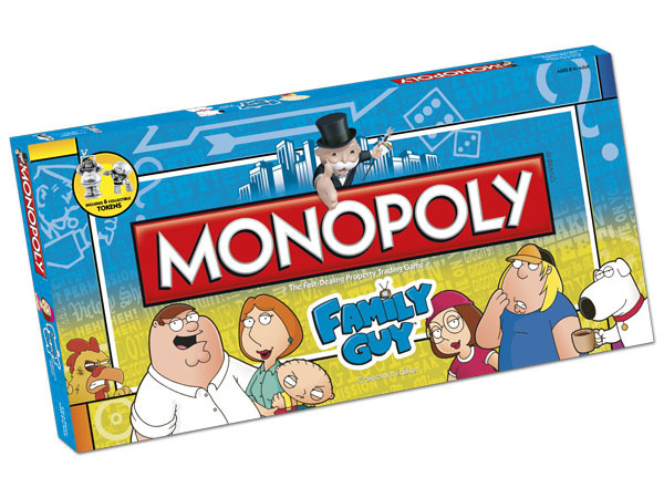 Monopoly Family Guy Collector's Edition