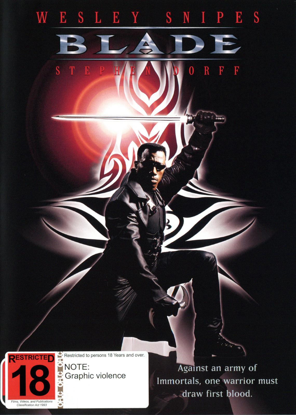 Blade on DVD image