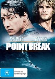 Point Break on DVD