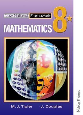 New National Framework Mathematics 8* Pupil's Book by Maryanne Tipler image