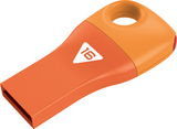 16GB Emtec Car Key USB 2.0 Flashdrive (Orange)