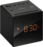 Sony Radio Single Alarm Clock - Black