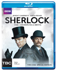 Sherlock: The Abominable Bride on Blu-ray