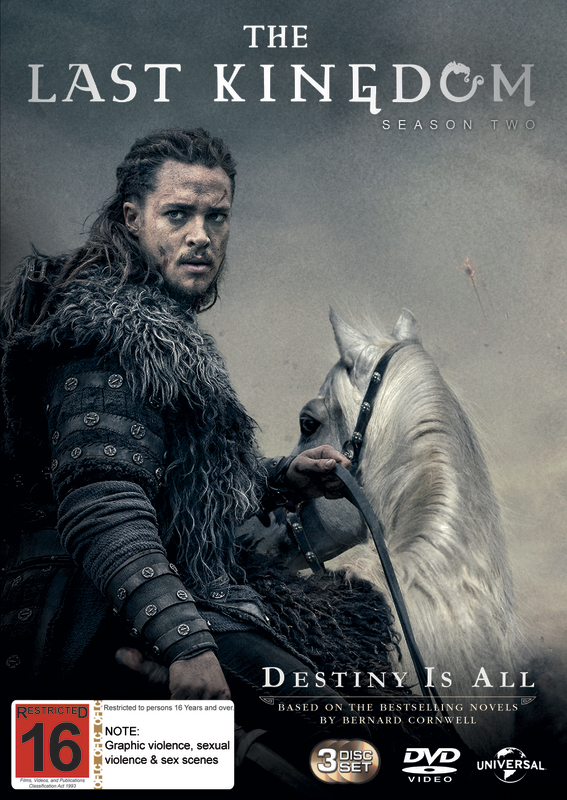 The Last Kingdom - Season Two on DVD