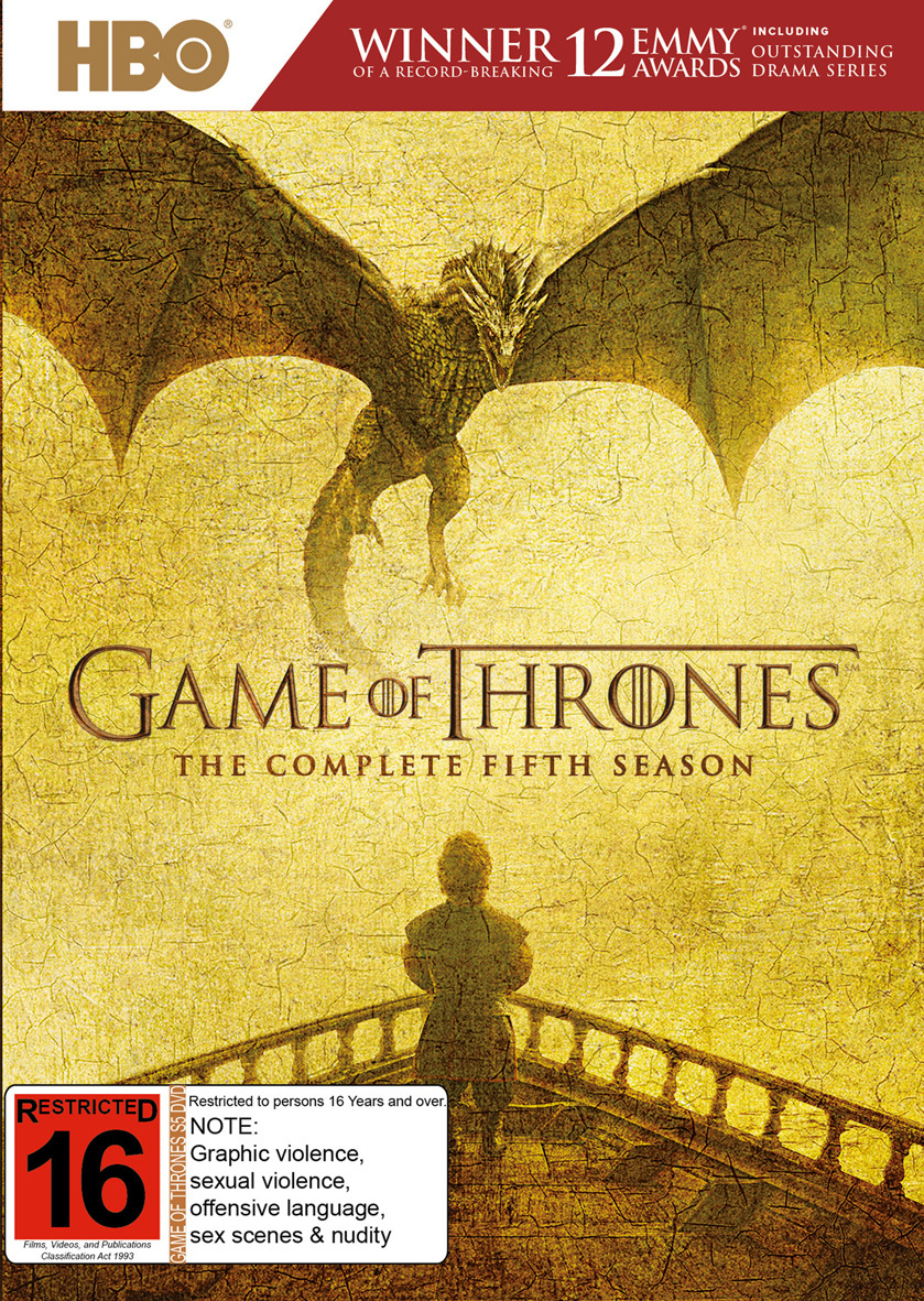 Game of Thrones - The Complete Fifth Season on DVD image