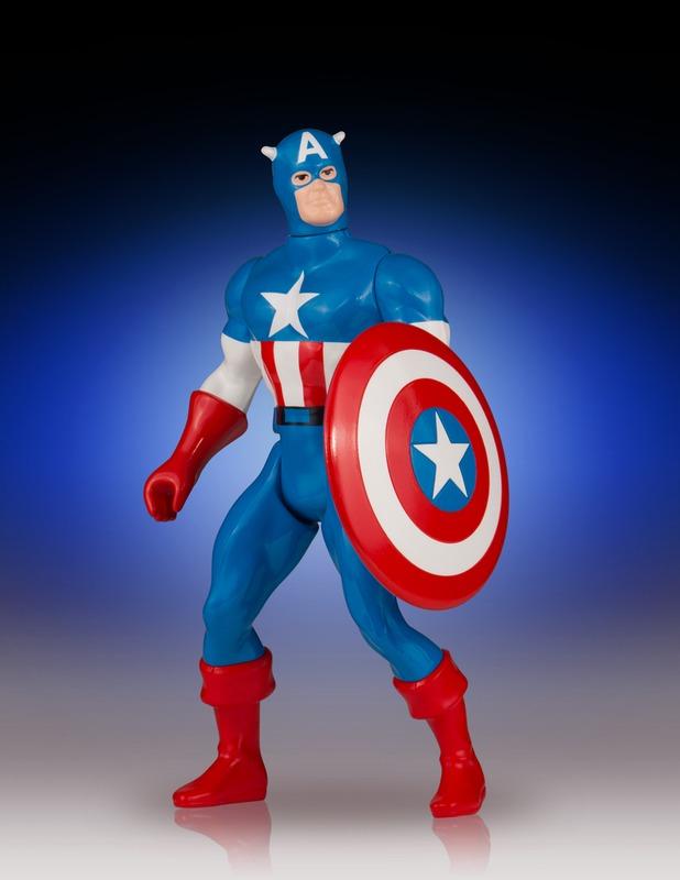 """Marvel: Jumbo Kenner Captain America - 12"""" Action Figure"""