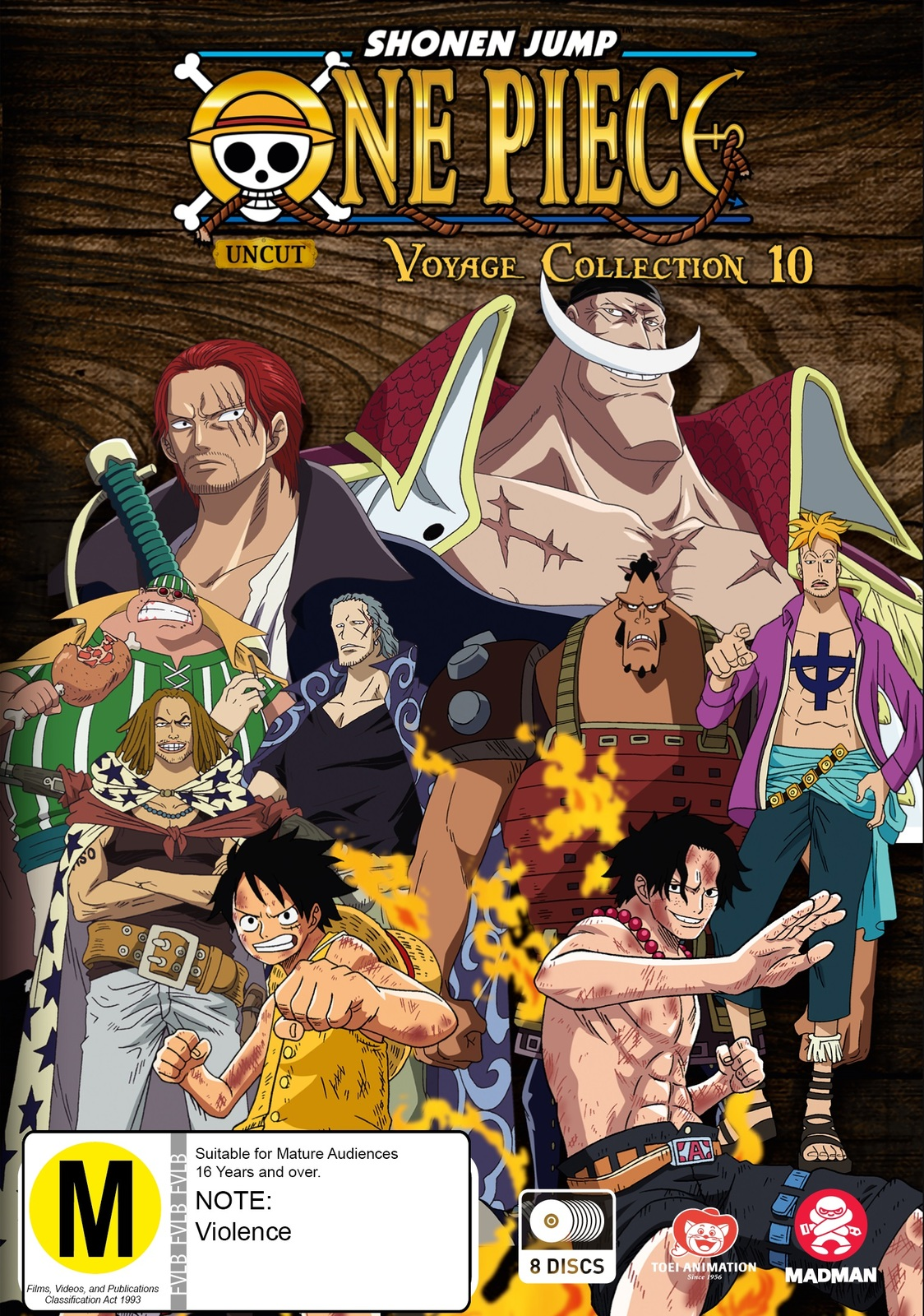 One Piece Voyage: Collection 10 (Episodes 446-491) image