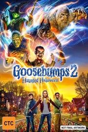Goosebumps 2: Haunted Halloween on Blu-ray