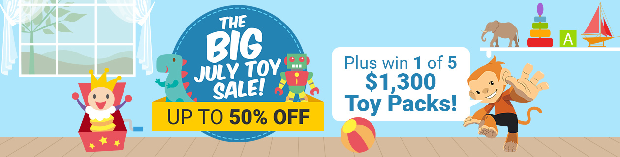 The Big July Toy Sale