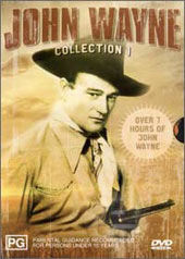John Wayne Collection 1 (6 movies on 2 discs) on DVD