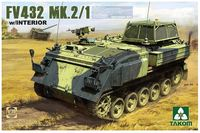 Takom 1/35 British APC FV 432 Mk.2/1 w/Interior Model Kit