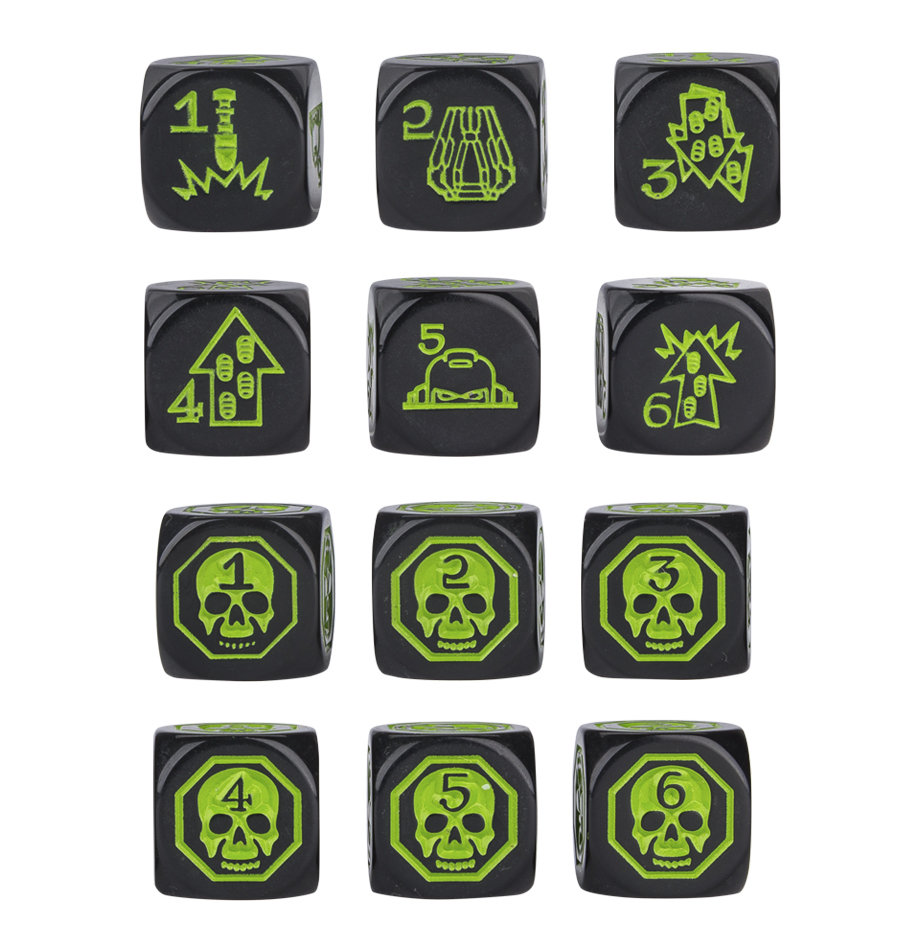 Warhammer 40,000: Command Dice image