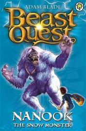 Beast Quest #5: Nanook the Snow Monster (1st series) by Adam Blade image