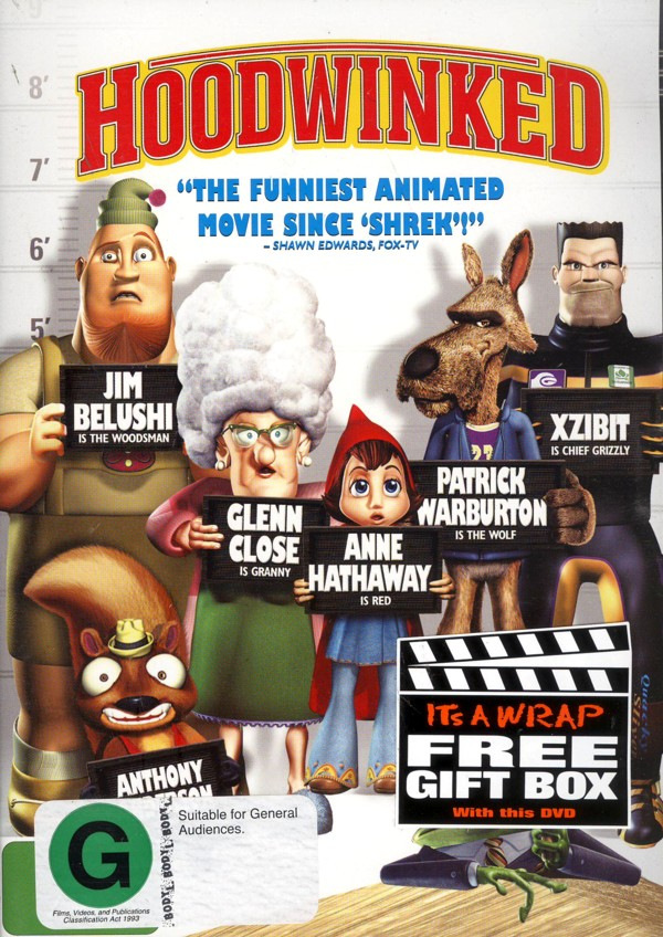 Hoodwinked on DVD image