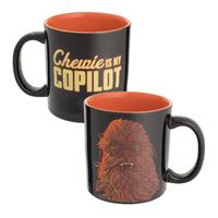 Star Wars Solo Ceramic Mug - Chewie is My Copilot (20oz)