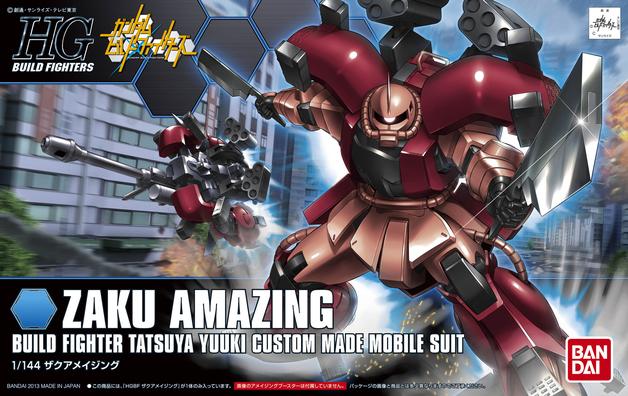 HGBF 1/144 Zaku Amazing - Model Kit