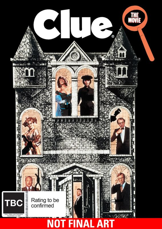 Clue on DVD