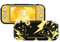 Switch Lite DuraFlexi Protector (Pikachu Black & Gold) by Hori for Switch