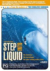 Step Into Liquid on DVD