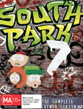 South Park - The Complete 7th Season (3 Disc Box Set) on DVD
